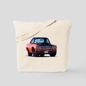 BabyAmericanMuscleCar_69_RoadR_Orange Tote Bag