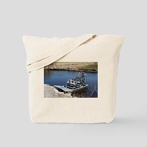 Florida swamp airboat 2 Tote Bag
