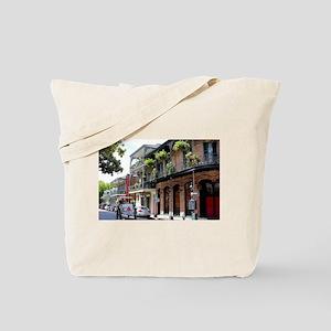 French Quarter Street Tote Bag