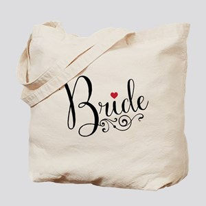 Elegant Bride Tote Bag