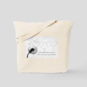 Dandelion Inspiration 2 Tote Bag