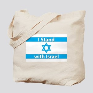 I Stand with Israel - Flag Tote Bag