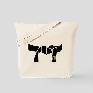 1st Black Belt Tote Bag