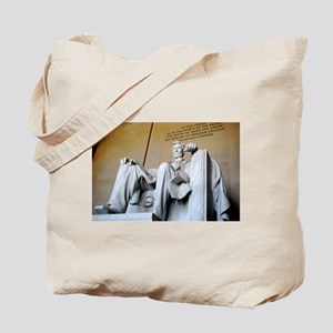 Words of Lincoln Tote Bag