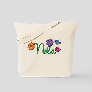 Nola Flowers Tote Bag