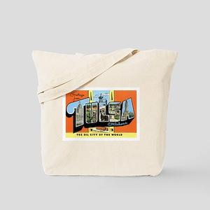 Tulsa Oklahoma OK Tote Bag