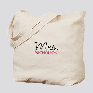 Customizable Name Mrs Tote Bag