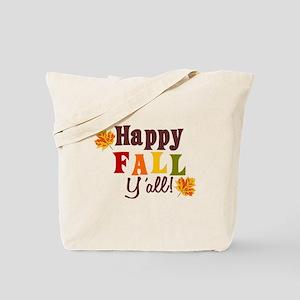 Happy Fall Yall! Tote Bag