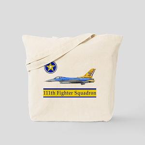 111th Fighter Squadron Tote Bag