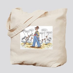 Thanksgiving Mooo Tote Bag