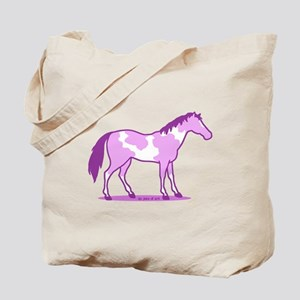 Purple Horse Tote Bag