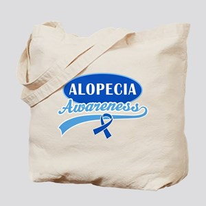 Alopecia Awareness logo Tote Bag