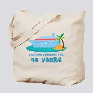45th Anniversary Cruise Tote Bag