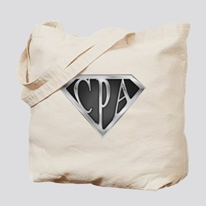 Super CPA - Metal Tote Bag