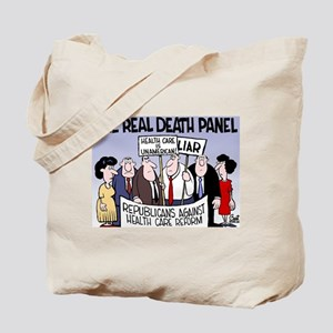 Real Death Panel Tote Bag