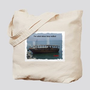 I've Sailed Where Jesus Walked Tote Bag