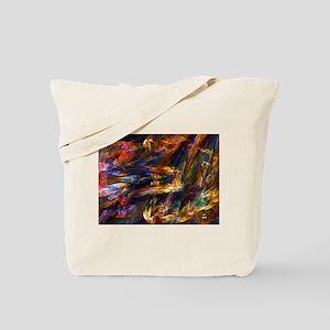Skies Asunder Tote Bag