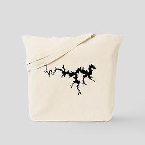 DRAGON {1 black} solid Tote Bag