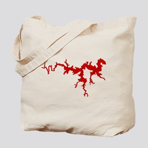 dragon only_crimson Tote Bag
