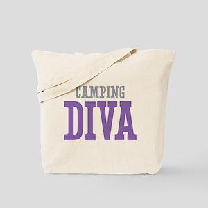 Camping DIVA Tote Bag