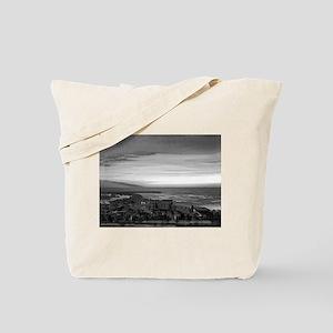 Black & White Sunset Tote Bag