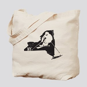 Ski New York Tote Bag
