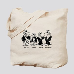 Buzzard thru the Ages Tote Bag