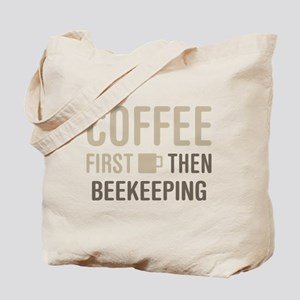 Coffee Then Beekeeping Tote Bag