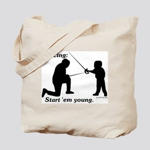 Young Tote Bag