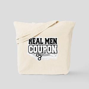 Real Men Coupon Tote Bag