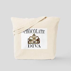 Chocolate Diva Tote Bag