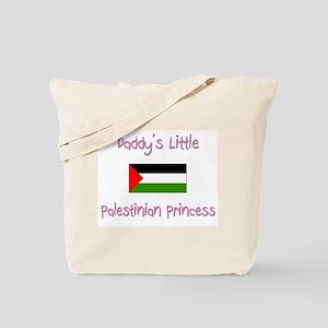 Daddy's little Palestinian Princess Tote Bag