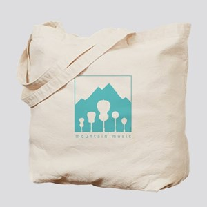 Mountain Music Tote Bag