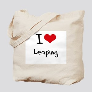 I Love Leaping Tote Bag