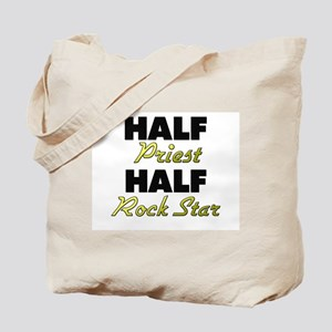 Half Priest Half Rock Star Tote Bag
