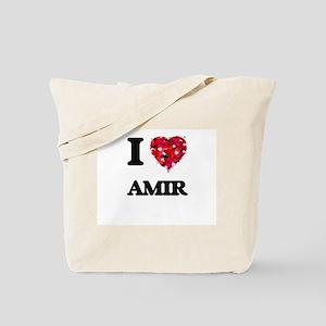 I Love Amir Tote Bag