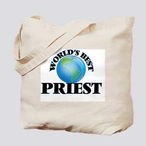 World's Best Priest Tote Bag