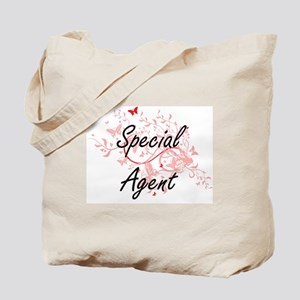 Special Agent Artistic Job Design with Bu Tote Bag