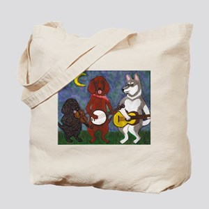 Country Dogs Tote Bag