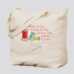 Quilt of Life Tote Bag