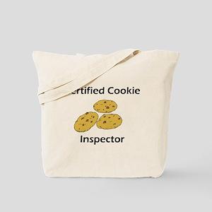 Certified Cookie Inspector Tote Bag