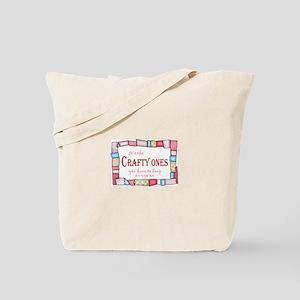 QUILTING HUMOR Tote Bag