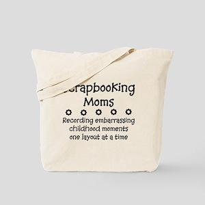 Scrapbooking Moms Tote Bag