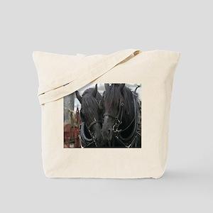 Percheron Draft Horses Tote Bag