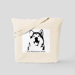 The Malamute Smile Tote Bag