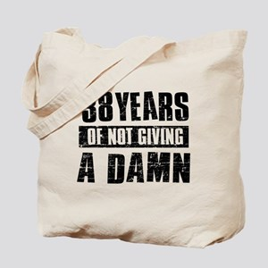 38 years of not giving a damn Tote Bag