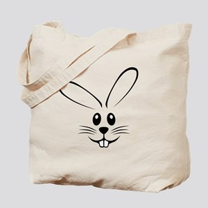 Rabbit Face Tote Bag