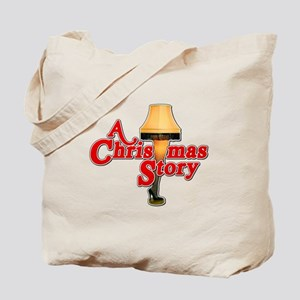 A Christmas Story Movie Lamp Tote Bag