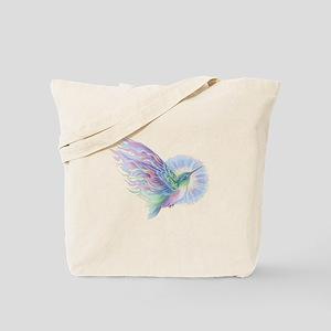 Hummingbird Art Tote Bag