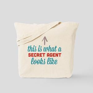Secret Agent Looks Like Tote Bag